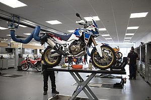Motorcycle Dealership Streamlines Service Department With Nederman