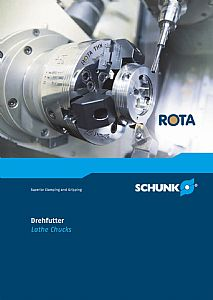 SCHUNK Publishes New Lathe Chuck Catalogue