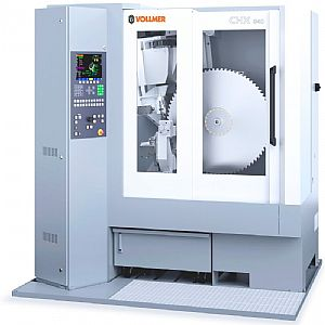 Curtain up for the VOLLMER grinding machine CHX